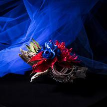 Clutch Bag Bouquet -MARINE design-