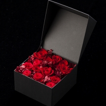 Jewelry Box Middle preserved flower