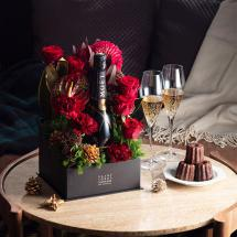 Christmas Champagne Box ~MOËT&CHANDON NECTAR IMPERIAL~